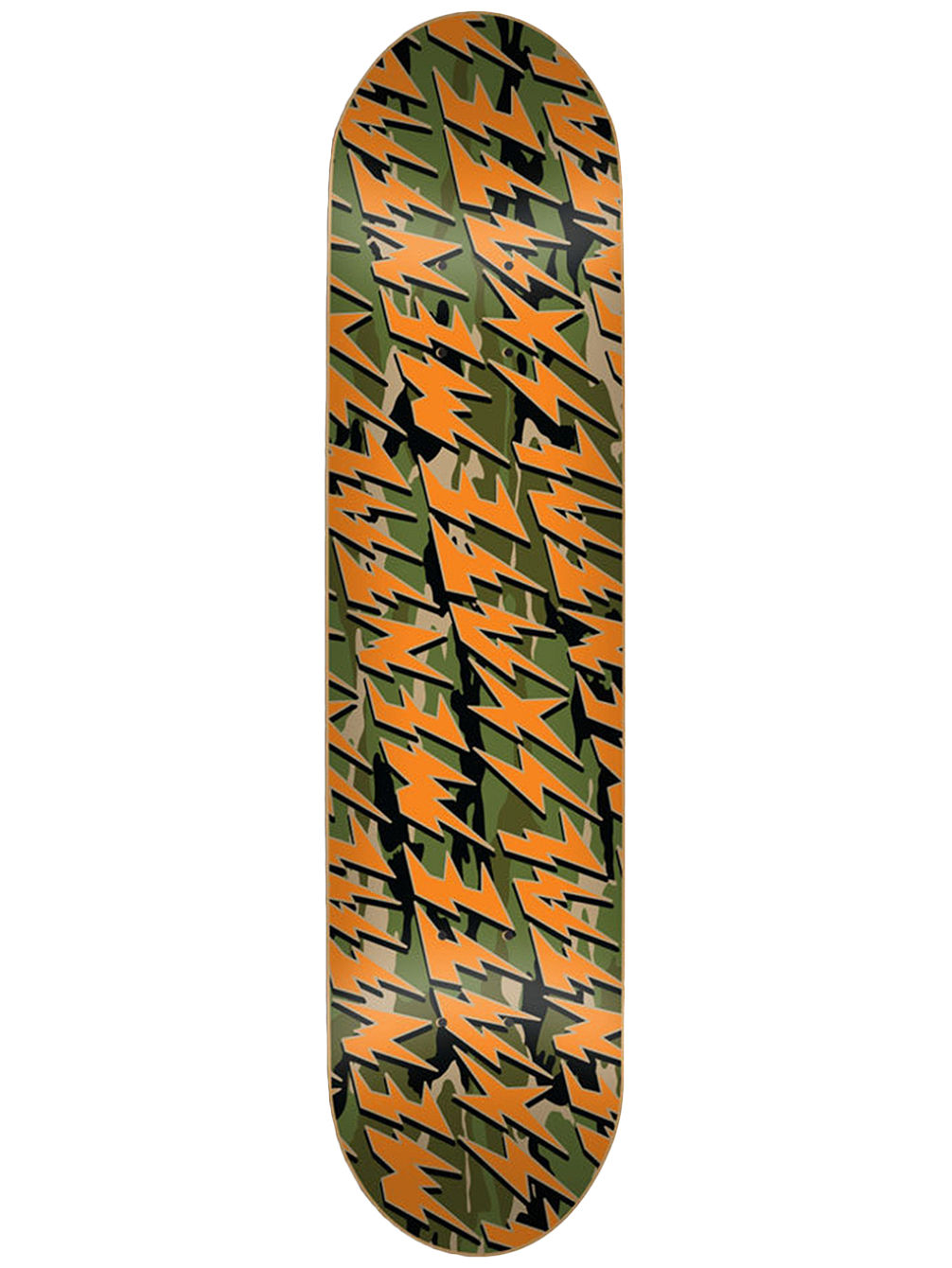 "Bolts Camo 8.375"" Skate Deck"