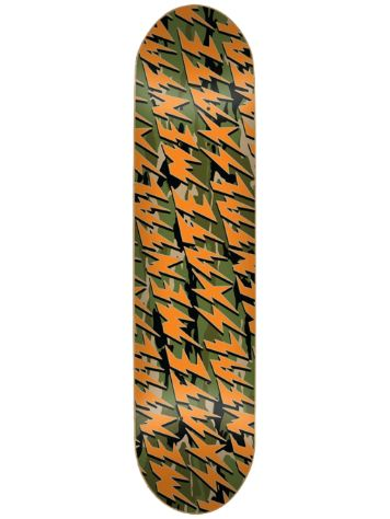 "Skate Mental Bolts Camo 8.375"" Skate Deck"