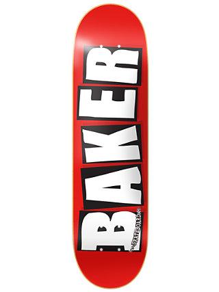 "Brand Logo White 8.125"" Skate Deck"