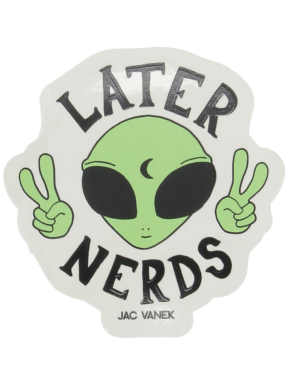 Later Nerds Sticker