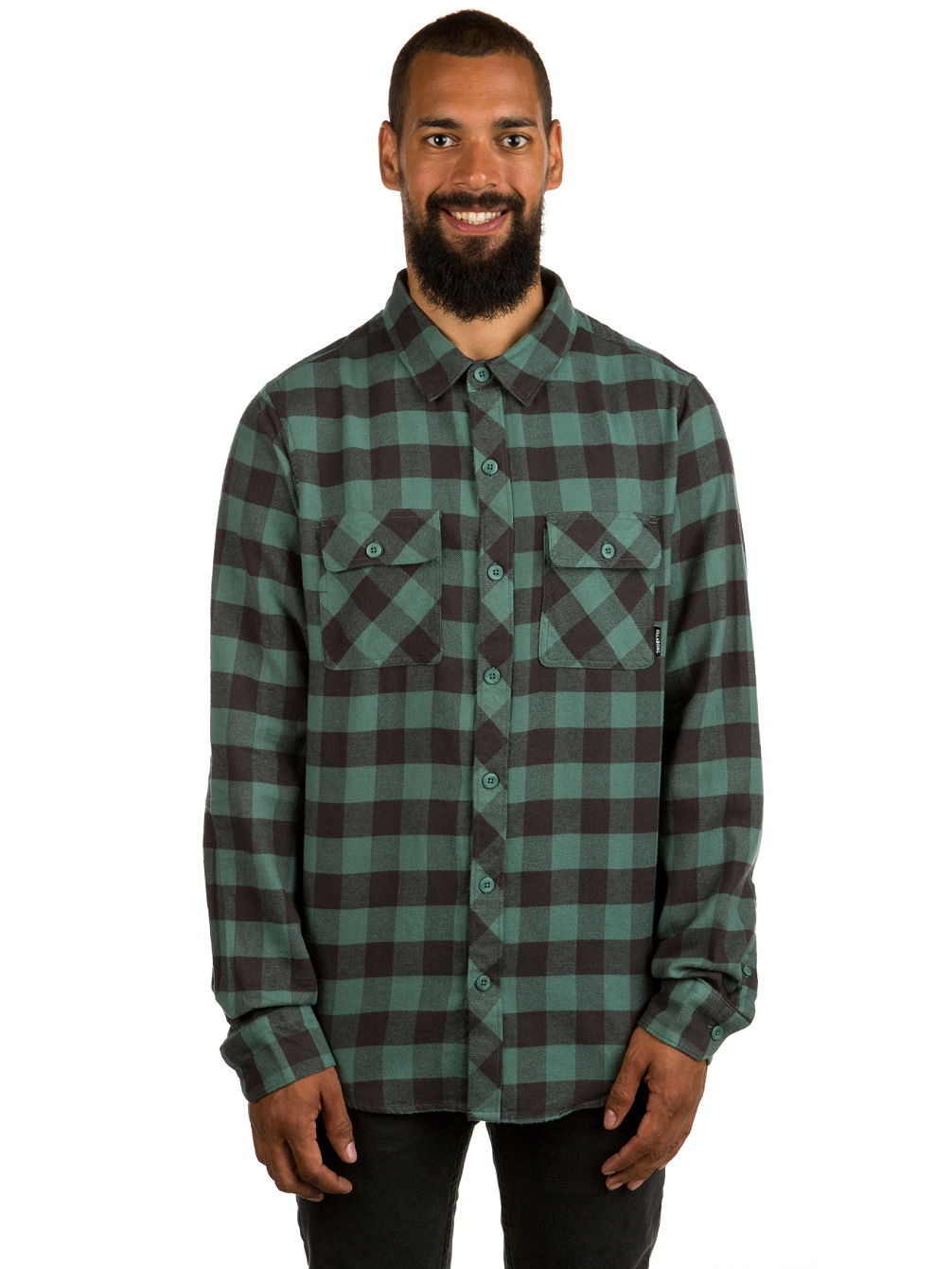 All Day Flannel Shirt LS
