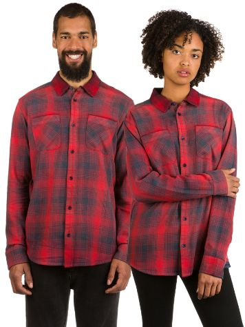 RVCA Neutral Plaid Camisa
