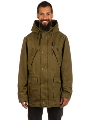 RVCA Ground Control Parka burnt olive Gr. S