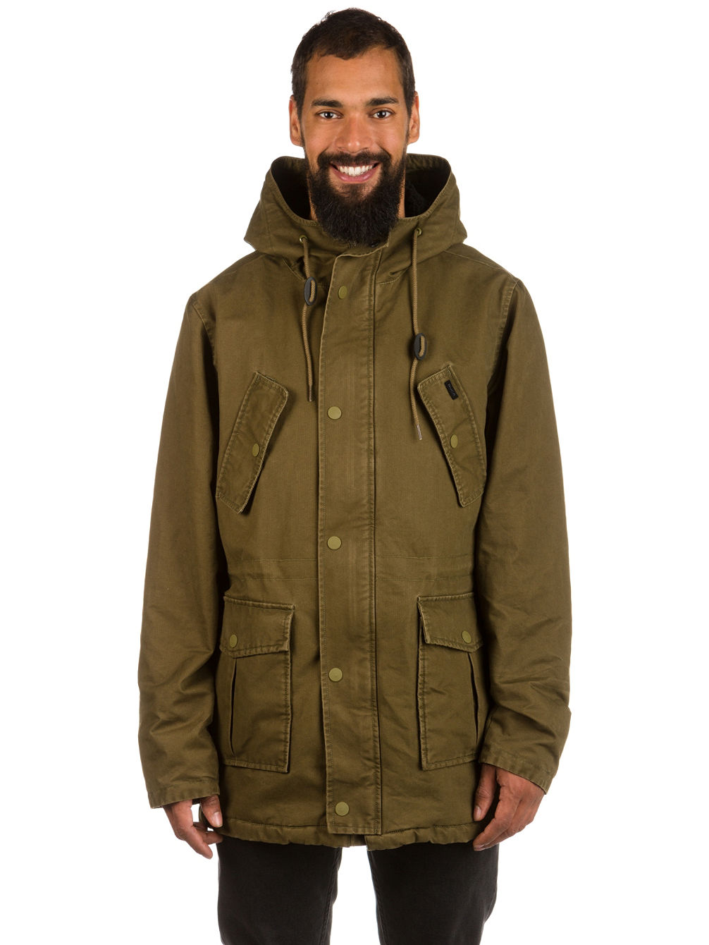310d9bfc85 Buy RVCA Ground Control Parka online at Blue Tomato
