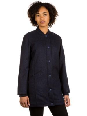 RVCA Melange Coat federal blue Gr. S