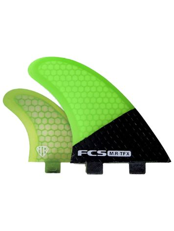 FCS Mr-Tfx Carbon/Fluro Tri Finnen Set
