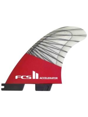 FCS 2 Accelerator Pc Carb M Tri Ret Fins red mood Gr. Uni
