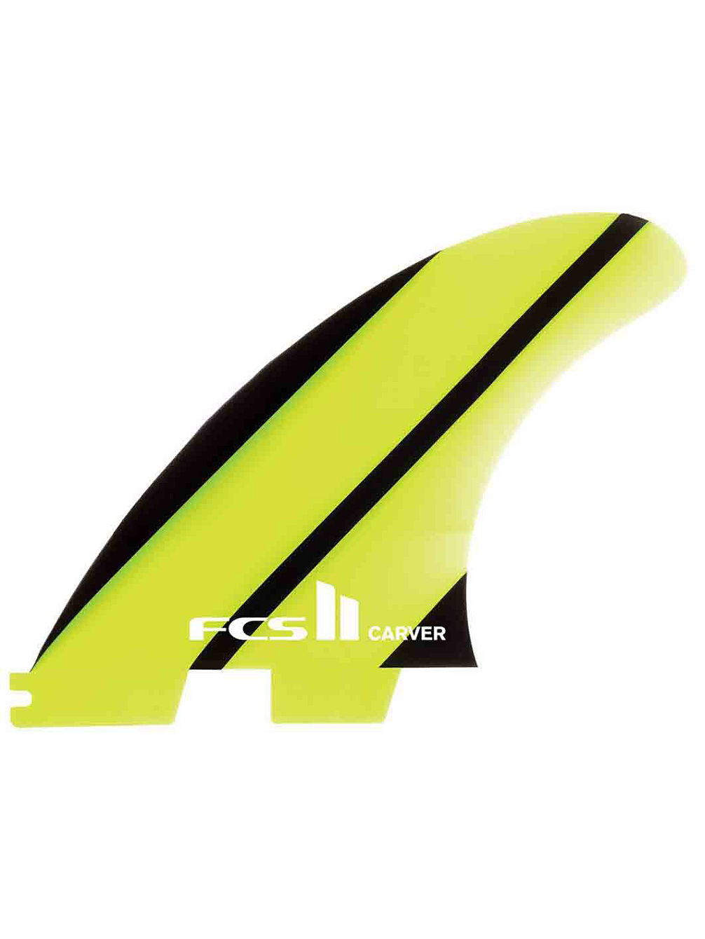 2 Carver Glass S Quad Rear Side Fin