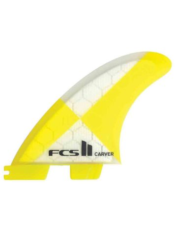 FCS 2 Carver Pc Yellow M Quad Rear Ret Fins