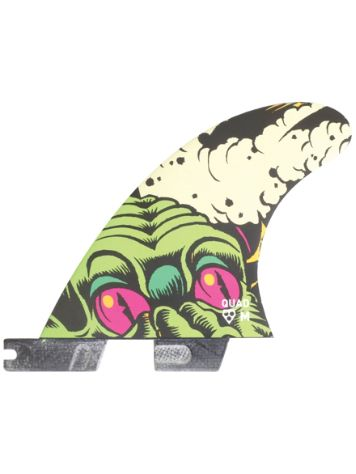 Gorilla Surf II Hell Yeah Pc M Tri-Quad Fin Set