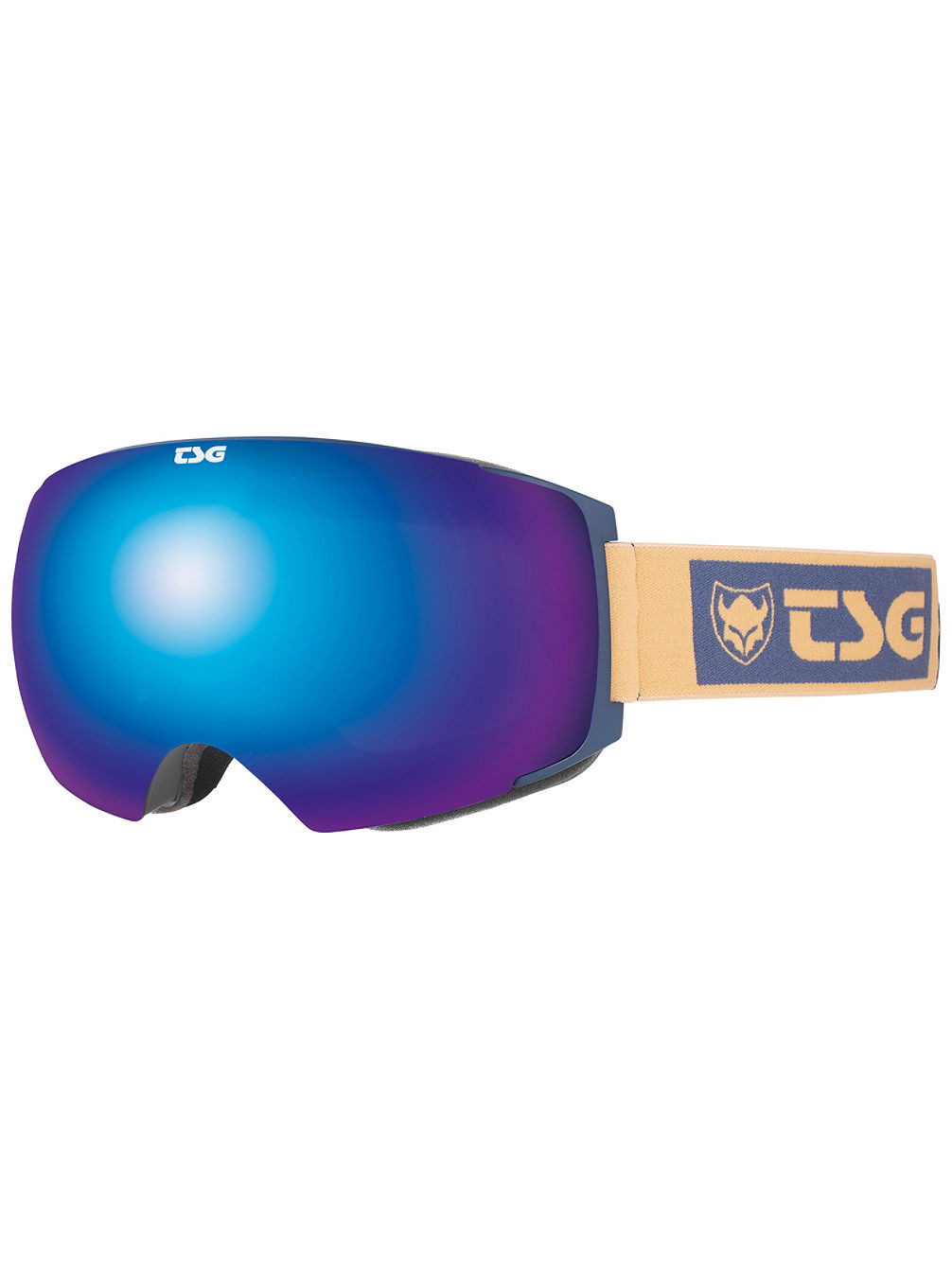 Two Block Midnight Blue Goggle