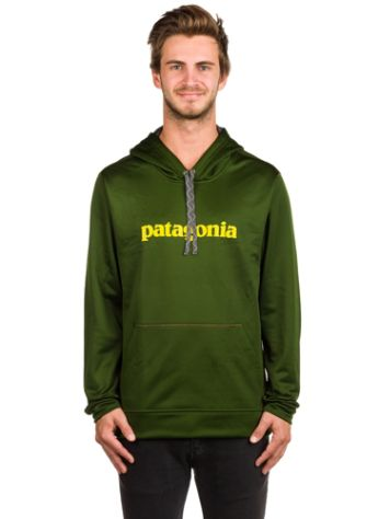 Patagonia Text Logo Polycycle Hoodie