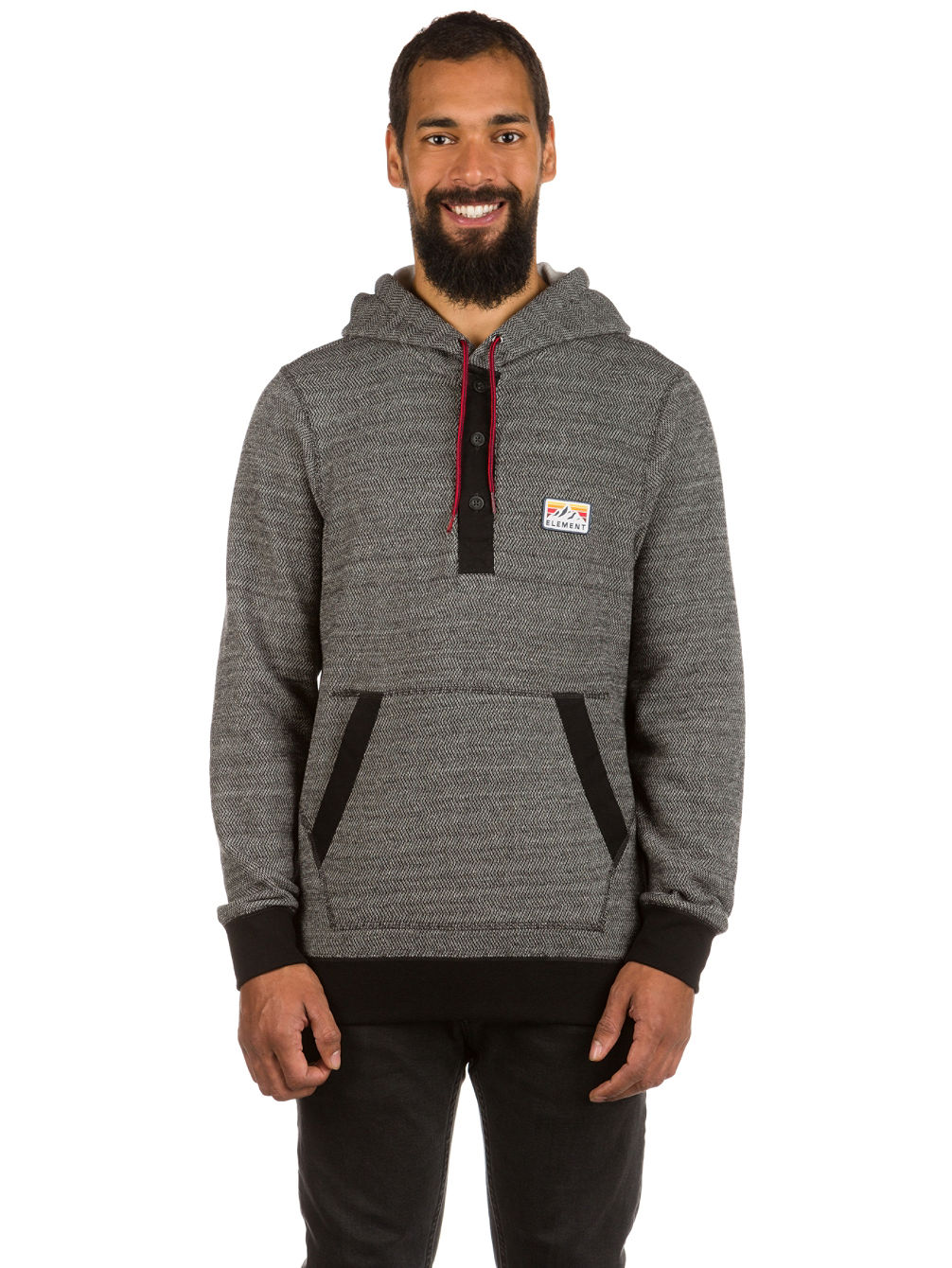 Highland Henley Sweat à Capuche