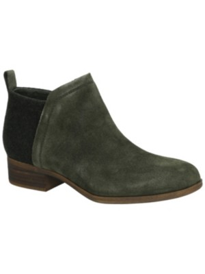 TOMS Deia Bootie Shoes Women forest suede Damen Gr. 10.0 US wYmu1z4YR