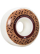 Brown Logo Apex Formula 101A 54mm Wheels