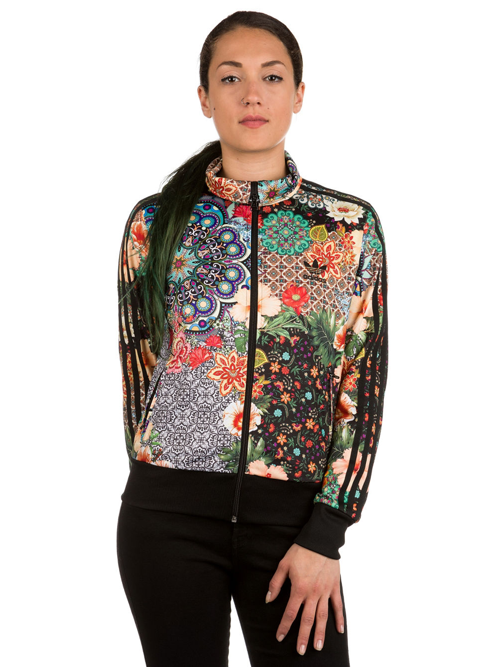 hot sale online d435a 4f91d adidas Originals Jardim Agharta Firebird TT Jacket