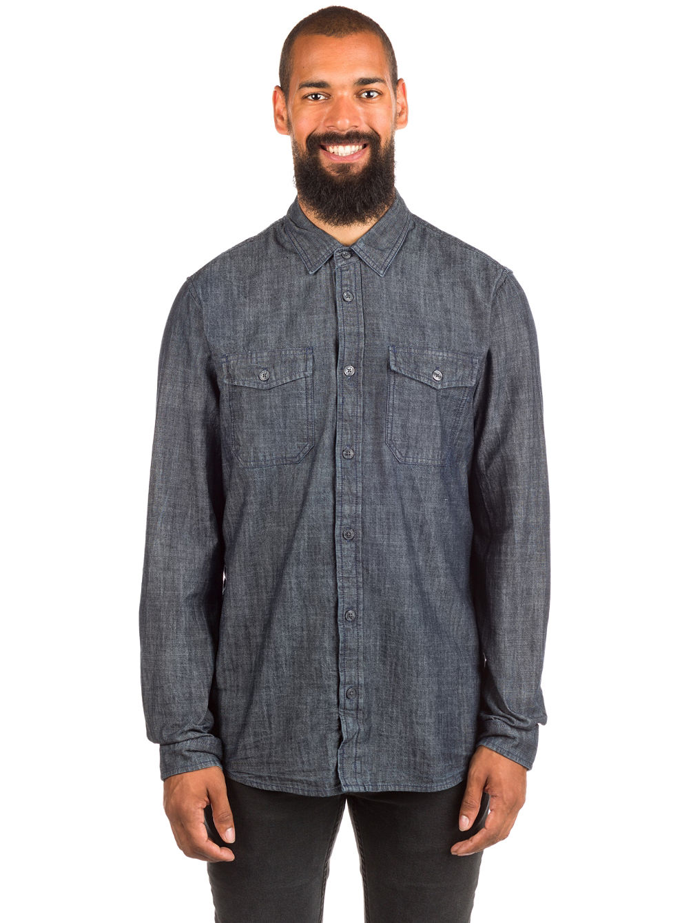 Jacks Chambray Shirt LS