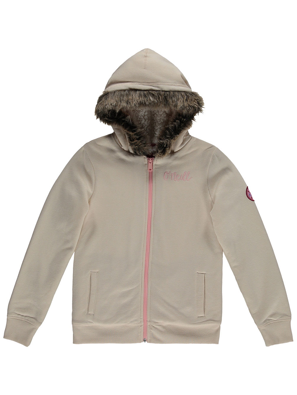 Emerald Bay Sherpa Zip Hoodie Girls
