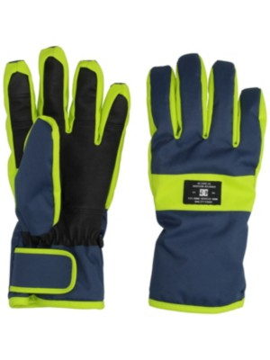 DC Franchise Gloves insignia blue Gr. M