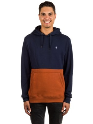 Volcom Sngl Stone Division Hoodie copper Gr. S