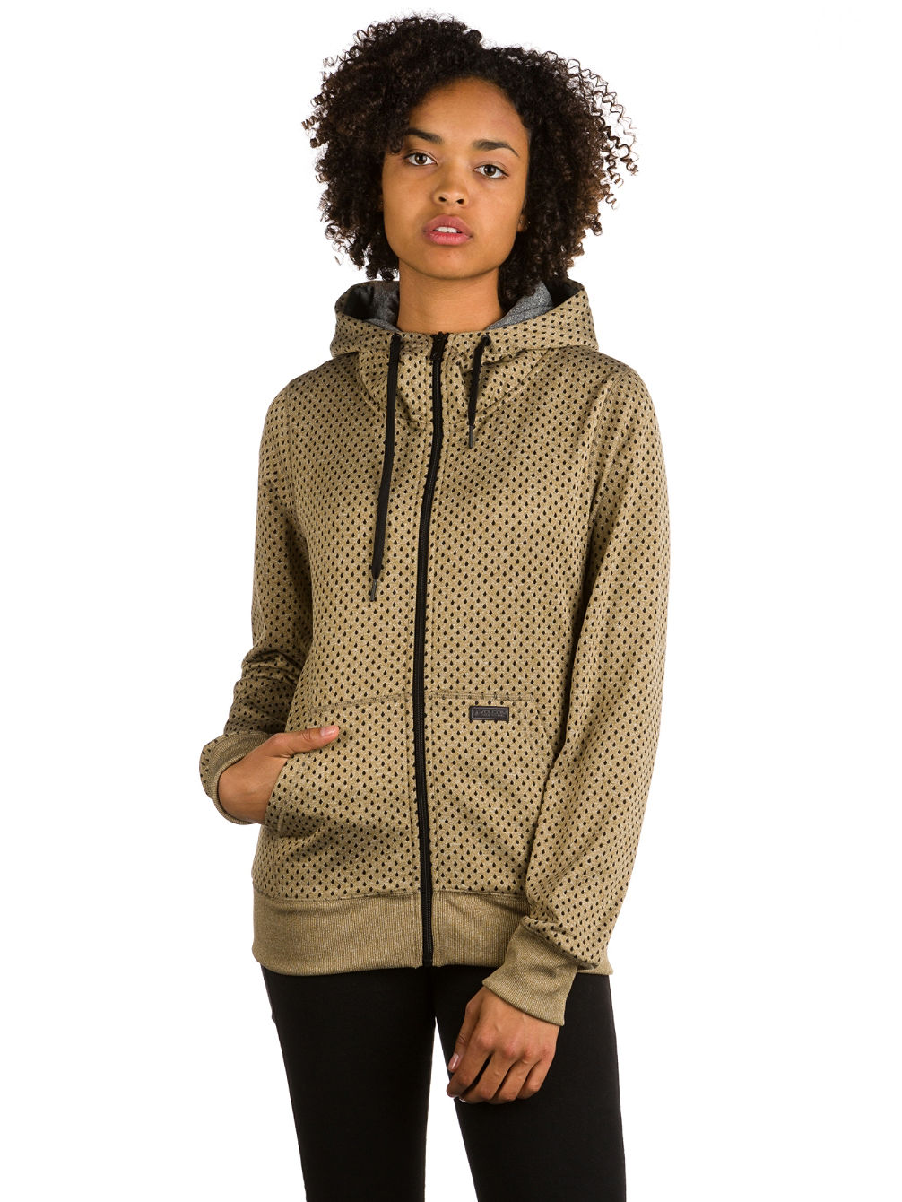 Stone Dot Fleece Jacket
