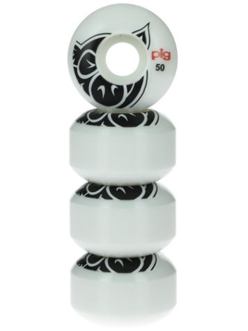 Pig Wheels Pig Head Natural 101A 50mm Rollen
