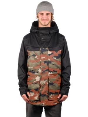 Oakley Timber 15K BioZone Shell Jacket warning camo Gr. S