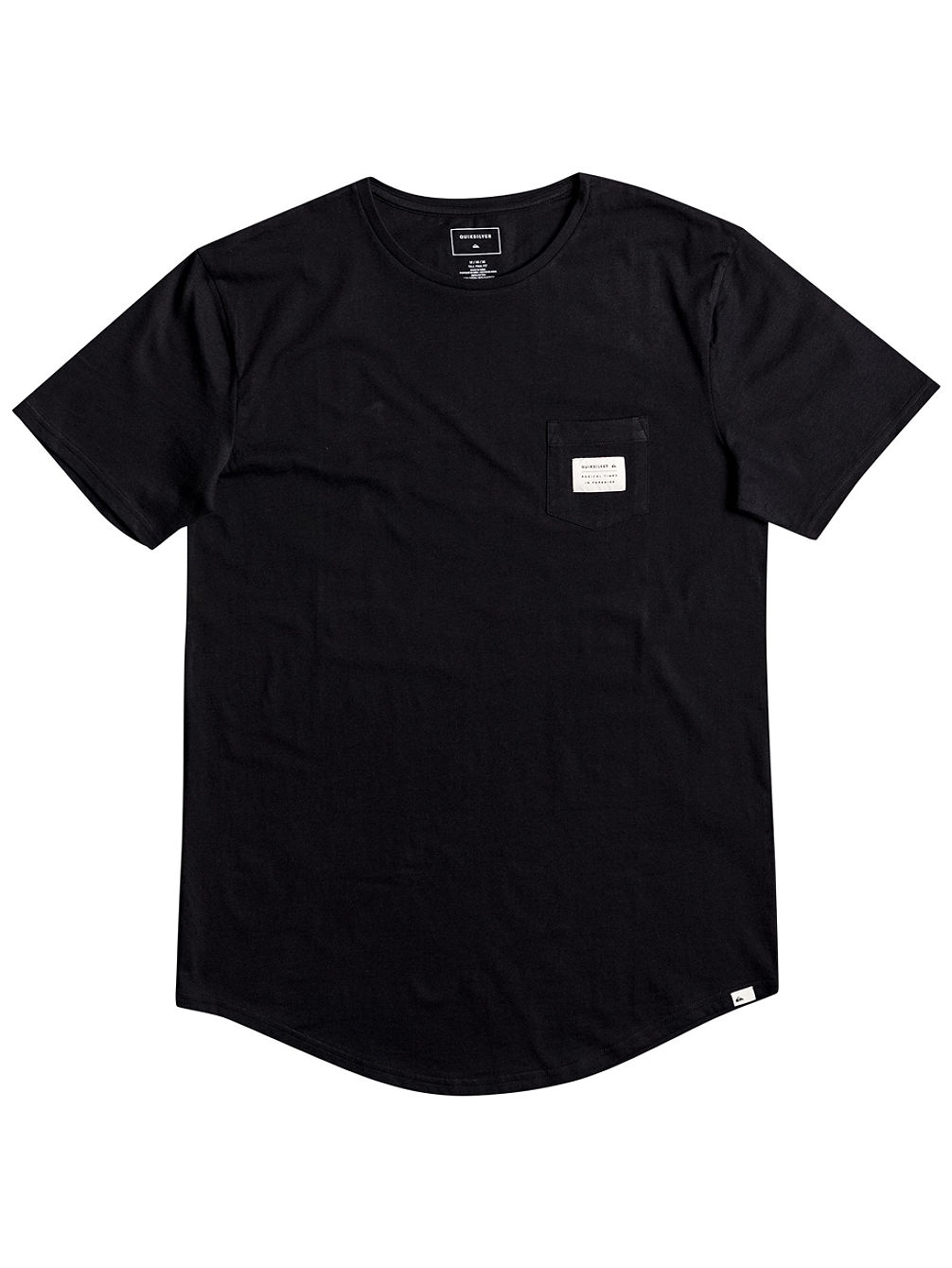 Scallop East Woven Pocket T-Shirt