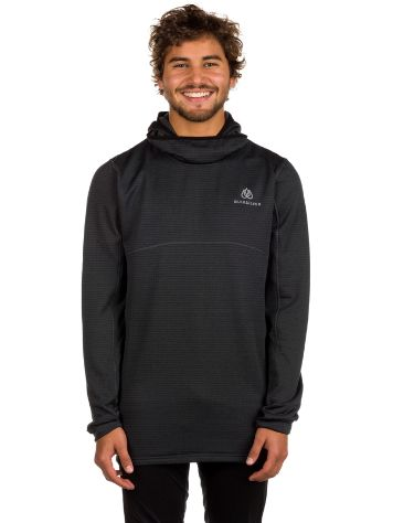 Quiksilver Tr Log Hood Fleece Funktionsshirt LS