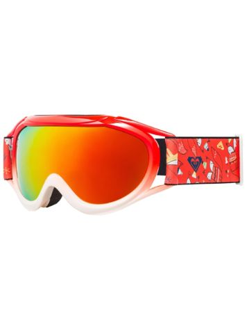 Roxy Loola 2.0 Neon Grapefruit_Foxes Youth Goggle jongens