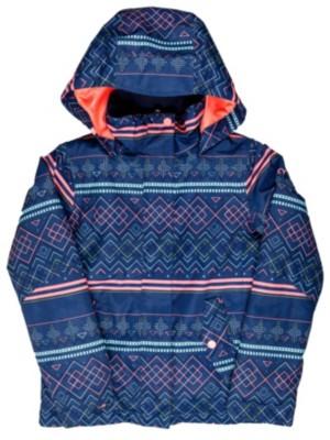 Roxy Jetty Jacket Girls sodalite blue_asta fairis Gr. T16