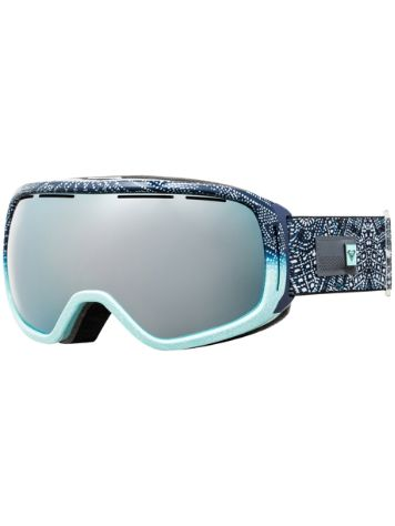 Roxy Rockferry Peacoat_Avoya Goggle