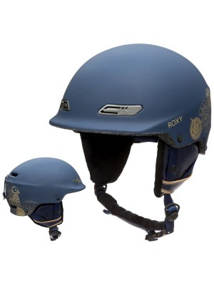 Roxy Power Powder Helmet peacoat_hackney empire Gr. 58
