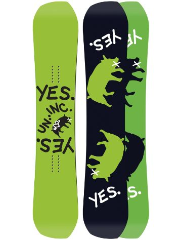 YES Greats.Uninc 156 2018 Snowboard