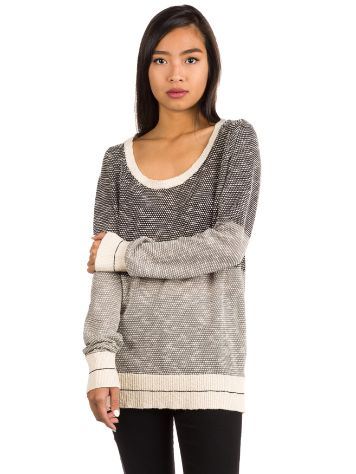 Iriedaily 2 Tone Biquet Knit Pulover
