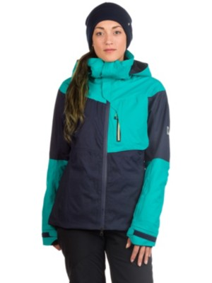 686 GLCR Solstice Thermagraph Jacket teal color block Gr. XS