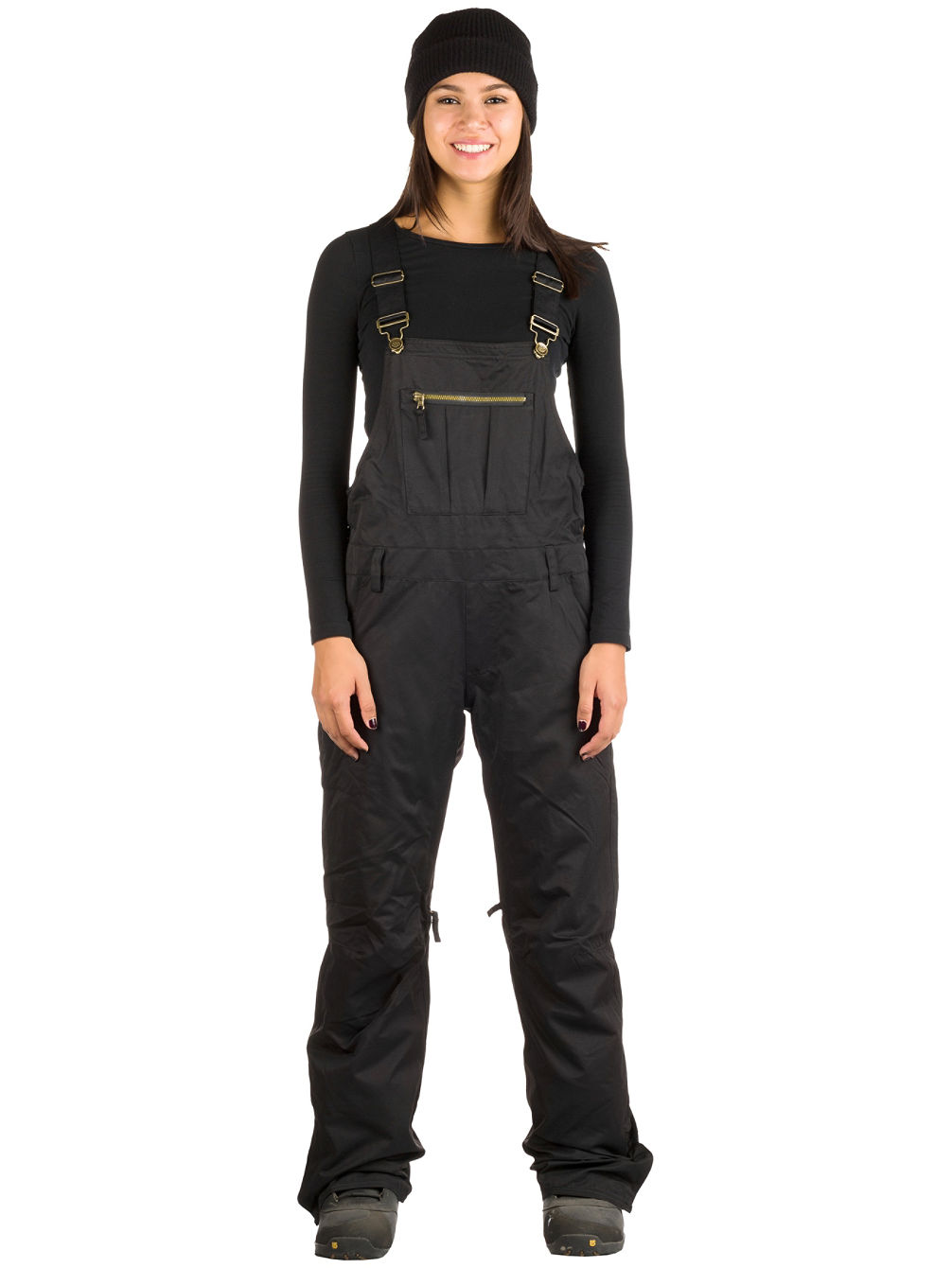 Black Magic Insulated Overall Pants