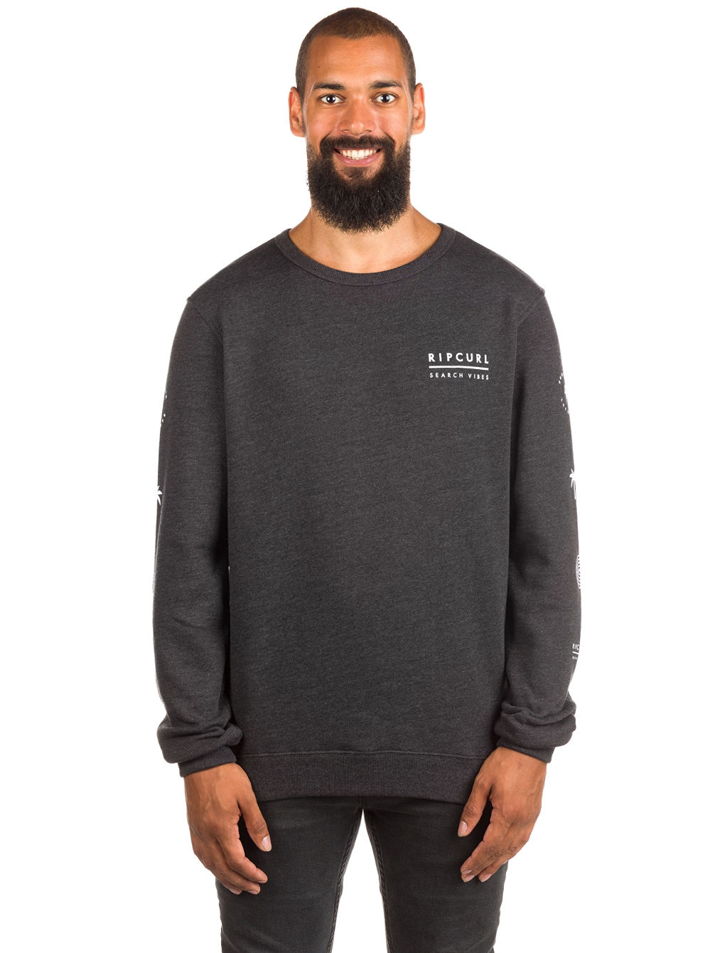Stacked Vibes Crew Sweater