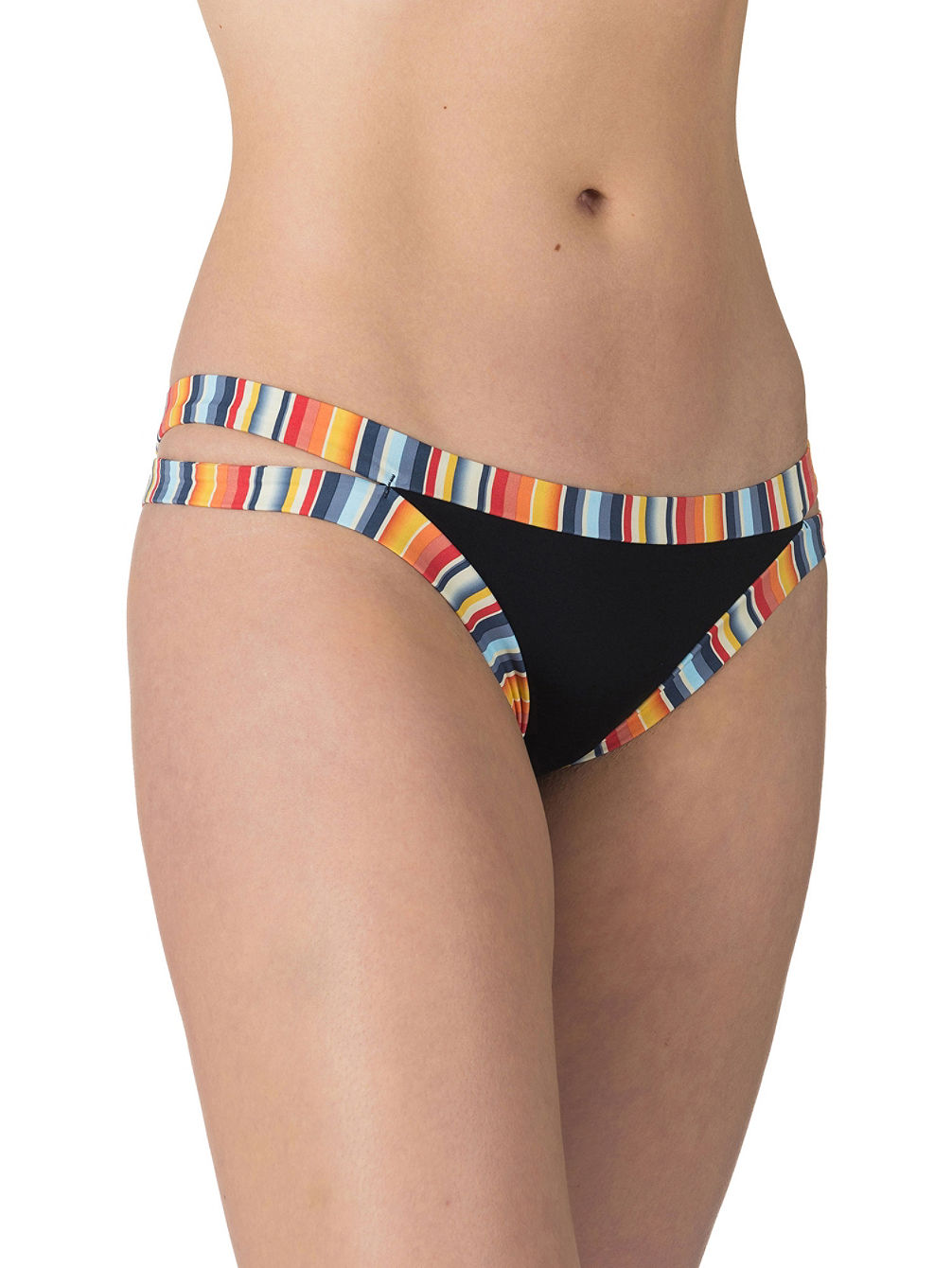 Vintage Stripes Cheeky Bikini Bottom