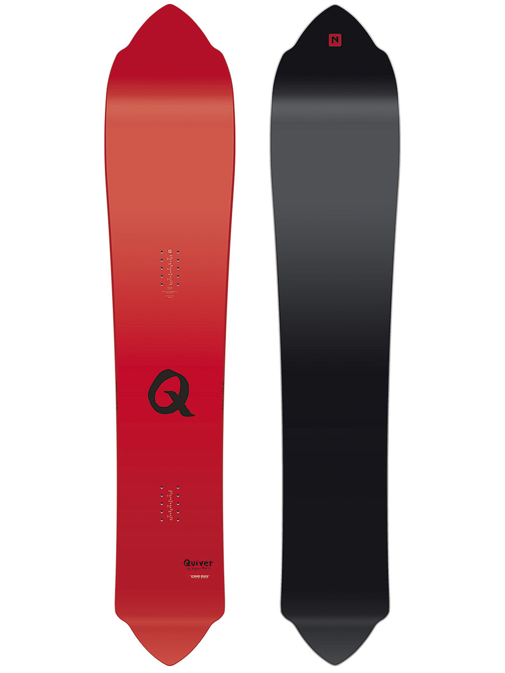 The Quiver Nuat 163 2018 Snowboard