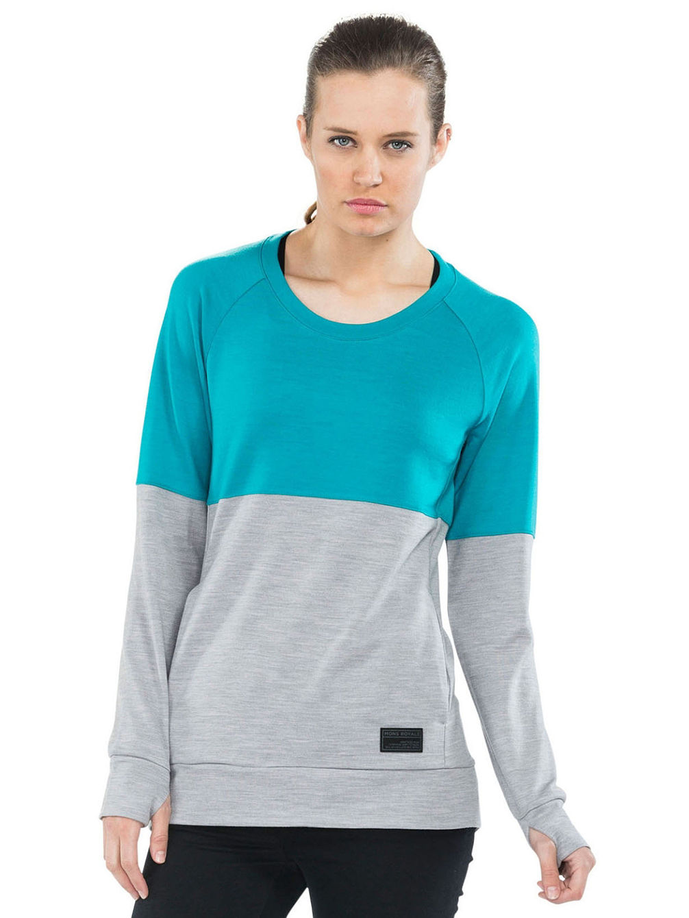 Merino Covert Tech Panel Sweater