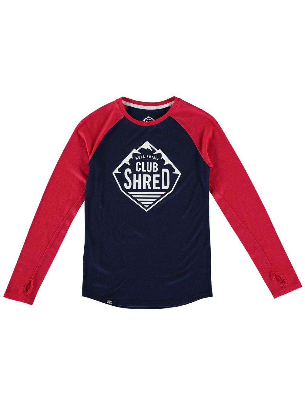 Merino Tech Tee LS Girls