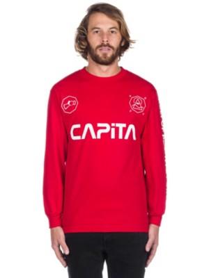 Capita Kult T-Shirt LS red Gr. M