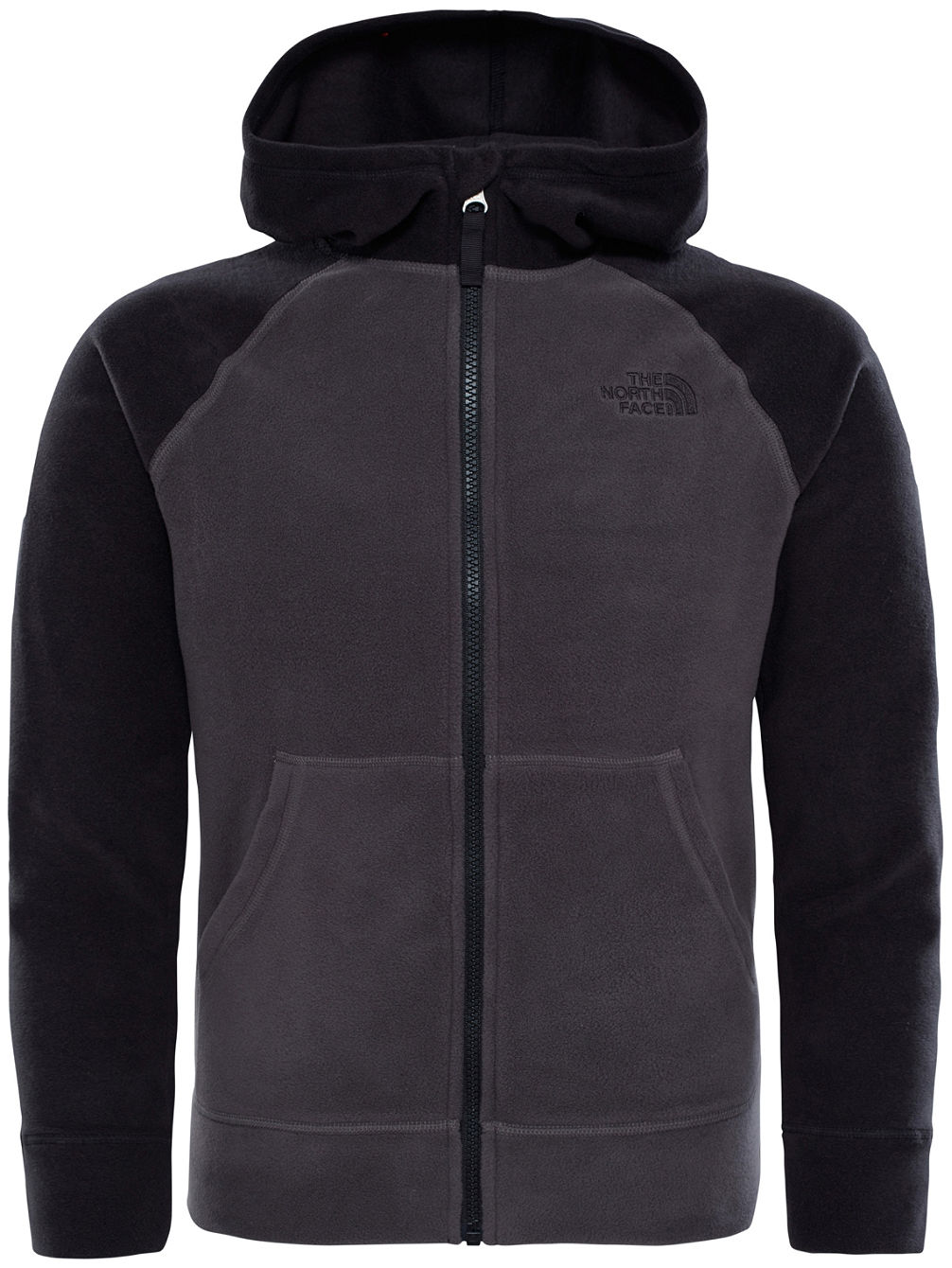 Glacier Hooded Fleece Jacket Boys