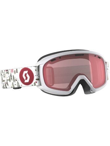 Scott Witty White/Pink Youth Goggle jongens