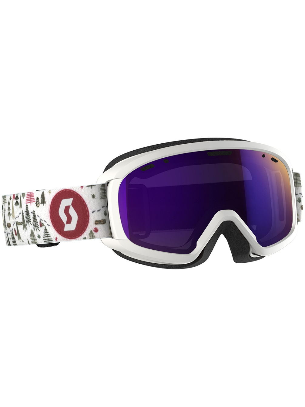 Witty White/Pink Youth Goggle