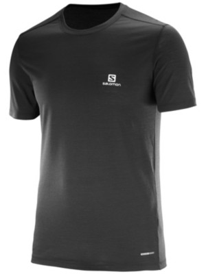Salomon X Wool Tech Tee black Gr. M