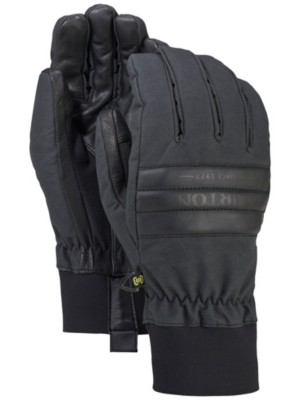 Burton Dam Gloves true black wax Gr. S