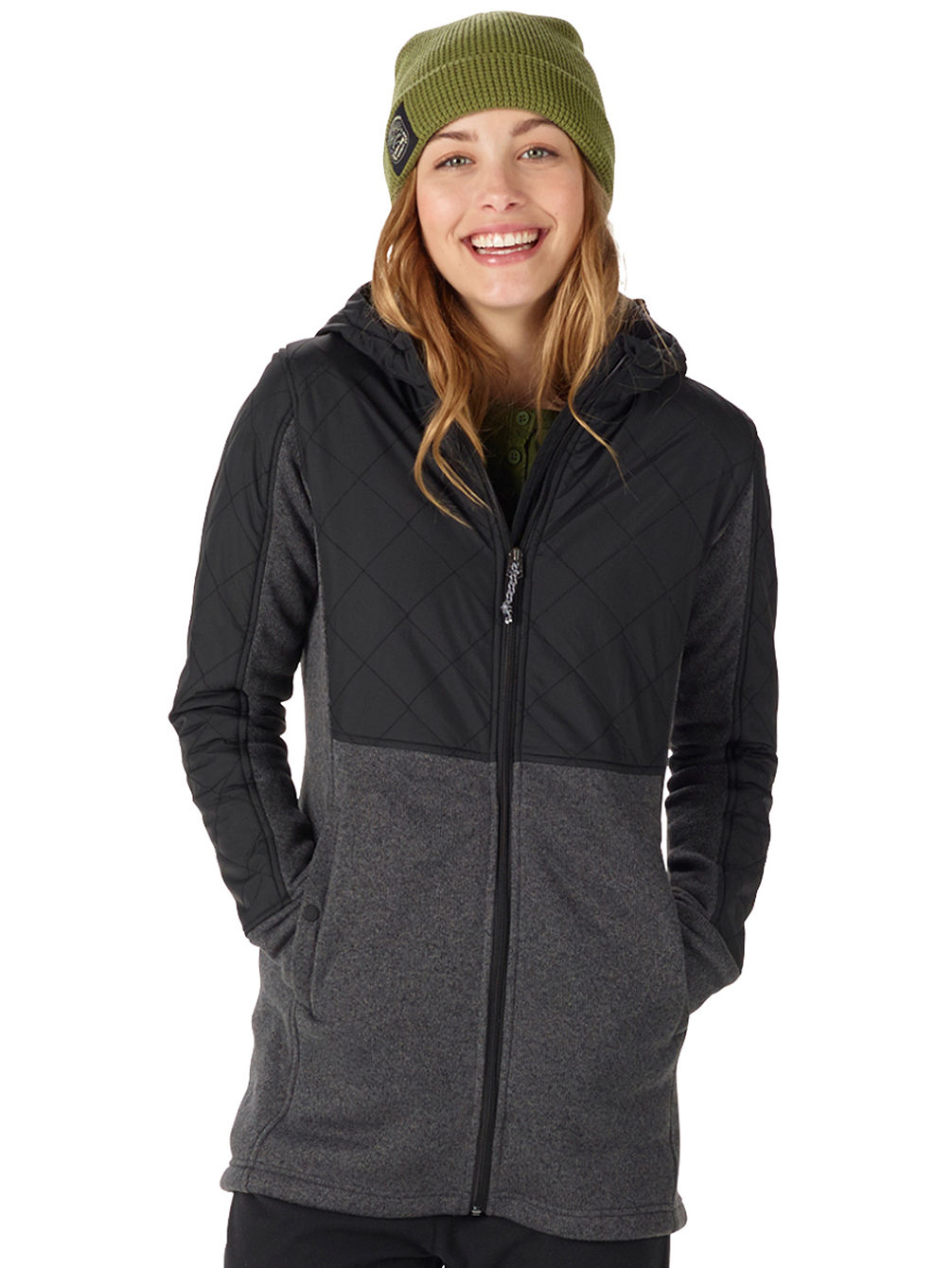 Embry Fleece Kapuzenjacke