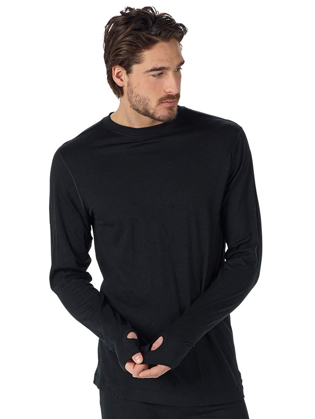 Midweight Merino Button Up Tech Shirt LS